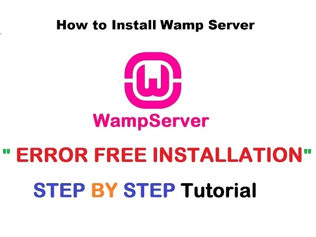 How To Install Wamp Server