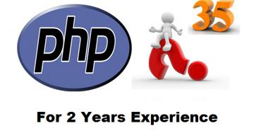 PHP Interview Questions And Answers For 2 Years Experience